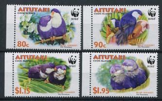 Aitutaki, michel 772/75, xx