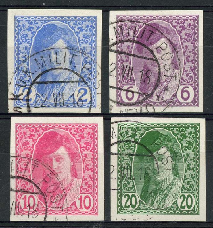 Bosnie Herz., michel 85/88, o
