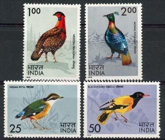 India, michel 625/28, xx