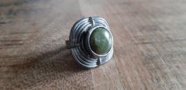 Ring groen, verstelbaar