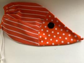 Knikkerzak  oranje muis