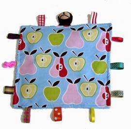 Knuffeldoek Appels en Peren