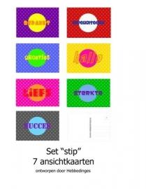 Set Stip XXL (7 ansichtkaarten)