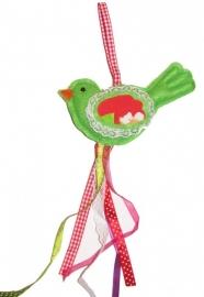 Kasthanger vogel groen