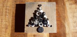 Steigerhout met knopen kerstboom 05