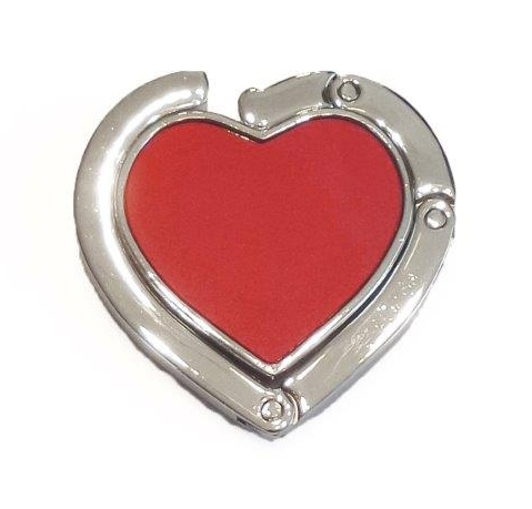 Tassenhaak hart rood