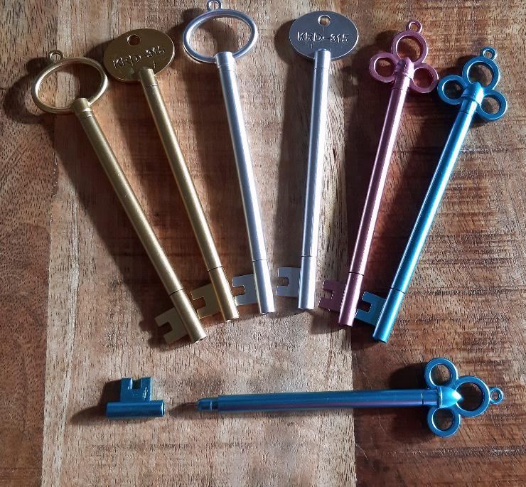 Set van 3 sleutelpennen
