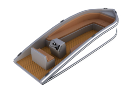 "Model ""SLOEP AY550""  lengte 366mm  (1:15)"