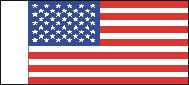 """Nationale Vlag """"USA"""" (USA01)"""