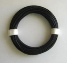 Zwart PVC draad.  E50511