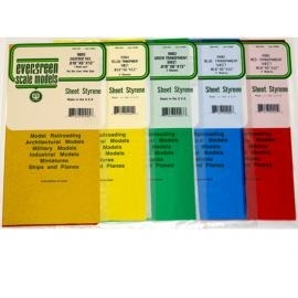"""PVC plaat """"SET 5 Kleuren""""  (EVR-9905)"""