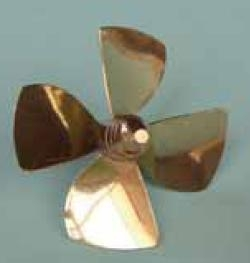 RAB-149-01A * Brass Kort Prop.4BL.R.M3. 30MM
