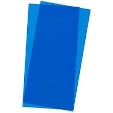 "PVC plaat BLAUW  ""EVERGREEN 9902"""