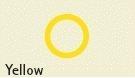 Transp. buis geel: 2,0 x 3,0 mm - R424-53/3