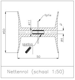 MSN 100 205 Nettenrol  schaal 1:50