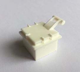 LUIK  - vierkant 20x20mm hoogte 16mm (WTD48-05)