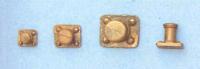 Metalen bolder 6x5x5 (5440/41)