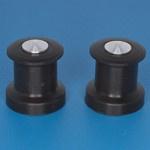 ø6 x 6mm hoog - 2 stuks  (P 105 06)