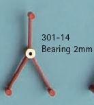 Ashouder 2 mm  RAB-301-14