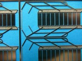 800 343 Trap 29 x 8mm (1:100) 4 stuks