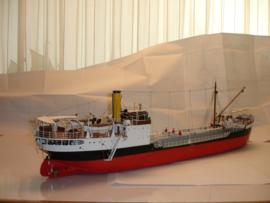 """Schaalmodel 1:75  """"President Bolivar""""  Tanker"""