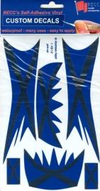 Vinylvel  *Flash Schotland*  1:10 - 12
