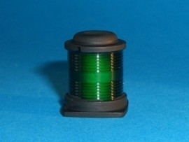 Rondom / signaallamp, groen 010 264