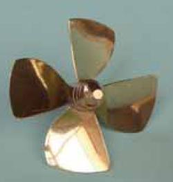 RAB-149-01 * Brass Kort Prop.4BL.R.M4. 30MM