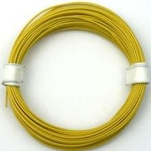 Geel PVC draad.   E50513