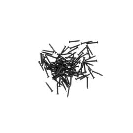 100 Spijkertjes 7,5mm - Zwart staal (PPU8174PB)