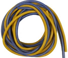 2 Meter Stroomdraad - Blauw/Geel 1,5mm  (E55133)