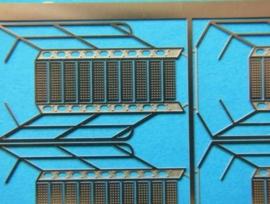 800 342 Trap 29 x 8mm (1:100) 4 stuks