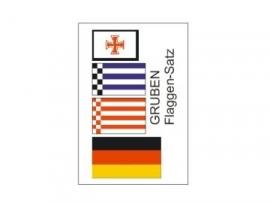 Vlaggenset BERNHARD GRUBEN  025 086