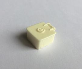 LUIK  - vierkant 13x13mm hoogte 8mm (WTD48-06)