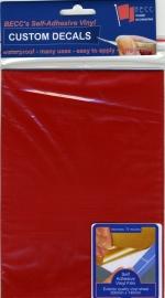Vinyl vel *ROOD*  580 x 135mm