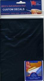 Vinyl vel *ZWART*  580 x 135mm