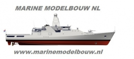 "Vlag ""MARINE MODELBOUW.NL"" 400 008"