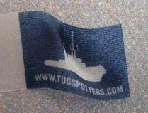 "Vlag ""TUGSPOTTERS.COM""  400 008"