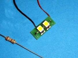 """LED Module 12 v """"Warm Wit""""  110 201"""