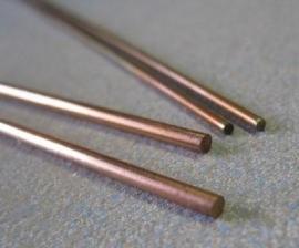 Buigzaam koper staf LxØ  300x1,50 mm (5071-01)