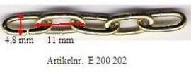 Langschalmig ketting (1 meter) E200 002