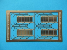 800 343 Staircase 29 x 8mm (1:100) 4 pieces