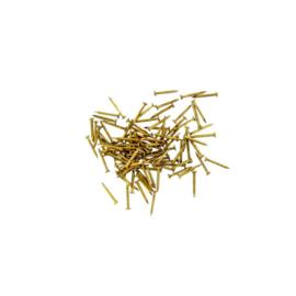 100 Spijkertjes 7,5mm - Brons (PPU8174PG)