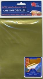 Vinyl vel *GOUD*  580 x 135mm
