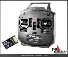 Futaba T6L Zender 2.4 GHz  6-kanaal (roF4076)