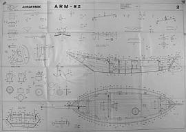 """ARM 82 """"Bouwtekening"""" (800914)"""