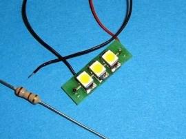 """LED Module 12 v """"Cold White"""" 110 205"""
