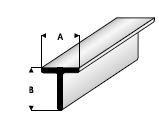 T-Profiel  1,5 x 1,5mm  413-51 (3x 33cm)