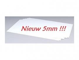 Wit Styreenplaatje MSN-601-05