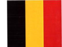 "Nationale Vlag ""BELGIË"" (B01-Belgium)"